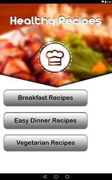 Healthy Recipes screenshot 8