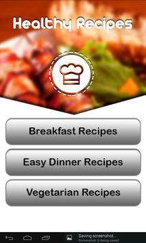 Healthy Recipes screenshot 13