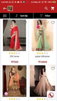 Pushpa Sarees screenshot 1