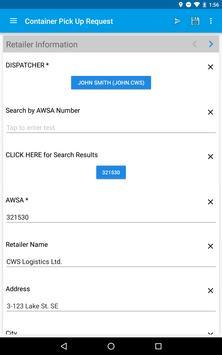 CWS Logistics screenshot 7