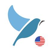 Dowiedz się amerykańskiego angielskiego. ikona