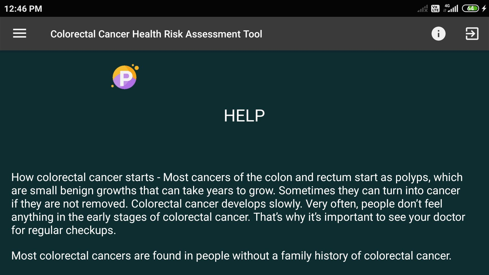 Colorectal Cancer Risk Assessment Tool For Android Apk Download