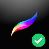 Free Procreate Pro Paint Editor App Tips icon