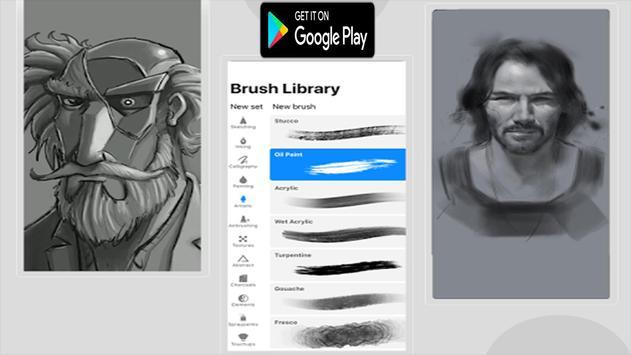 Free Procreate Pro Paint Editor App Tips poster