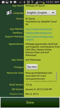 Mohaqiq Al-Quran screenshot 20