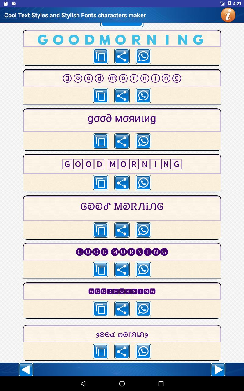 Cool Text Styles & Stylish Fonts characters maker for Android - APK