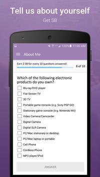 SB Answer - Surveys that Pay screenshot 2