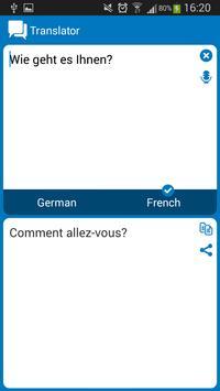 German - French dictionary screenshot 6