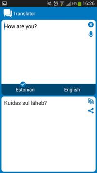 Estonian - English dictionary screenshot 6