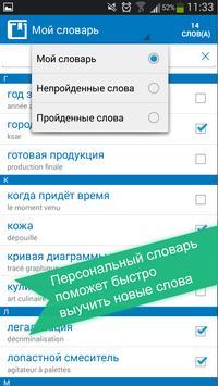Russian <> French dictionary screenshot 3