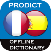 French - Spanish dictionary icon
