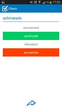 French - Spanish dictionary screenshot 5