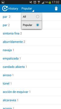 French - Spanish dictionary screenshot 7