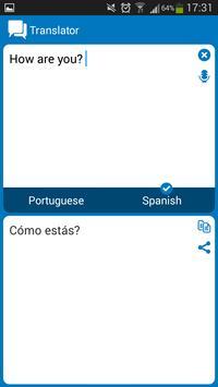 Portuguese Spanish dictionar screenshot 6