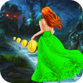 Princess Run Royal Street Chase - Gold Run Game