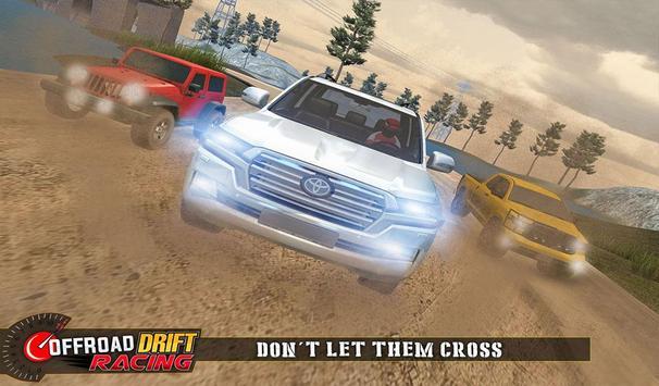 Real Offroad Prado Drift Racing تصوير الشاشة 11