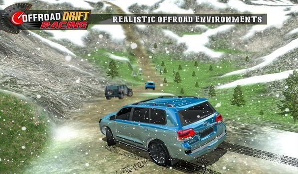 Real Offroad Prado Drift Racing تصوير الشاشة 13
