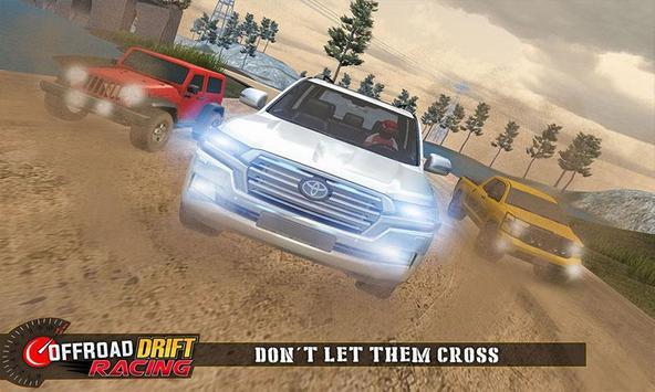 Real Offroad Prado Drift Racing تصوير الشاشة 1