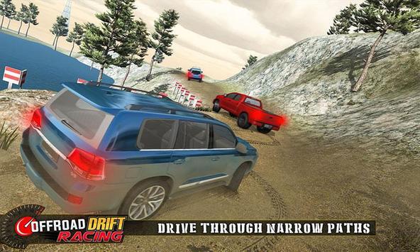 Real Offroad Prado Drift Racing تصوير الشاشة 2