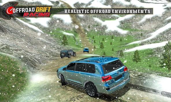 Real Offroad Prado Drift Racing تصوير الشاشة 3