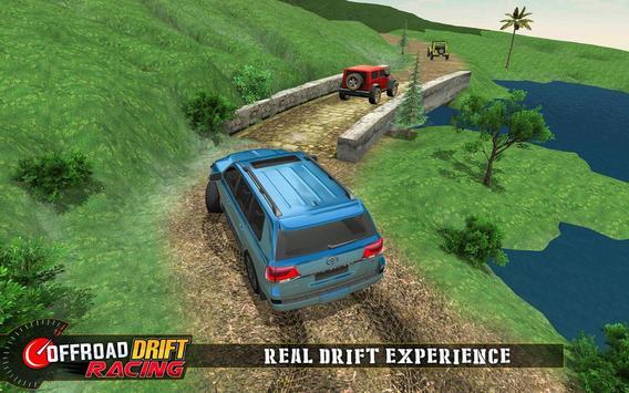 Real Offroad Prado Drift Racing تصوير الشاشة 9