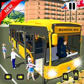 Offroad School Bus Coach Driving Simulator 2020 icon