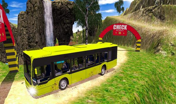 Offroad School Bus Coach Driving Simulator 2020 screenshot 6