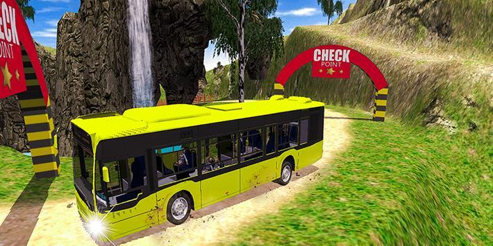 Offroad School Bus Coach Driving Simulator 2020 screenshot 2
