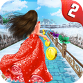 Princess Running To Home - Road To Temple 2