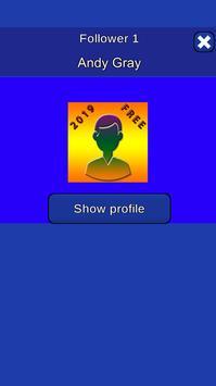 Profile detective - view my profile followers. screenshot 1