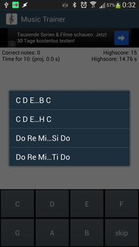 Music Trainer скриншот 4