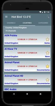 All Satellites Channels Frequencies - WikiSat screenshot 3
