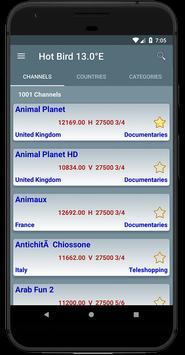 All Satellites Channels Frequencies - WikiSat screenshot 1