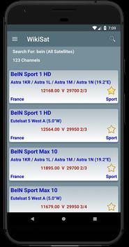 All Satellites Channels Frequencies - WikiSat screenshot 7