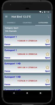 All Satellites Channels Frequencies - WikiSat screenshot 5