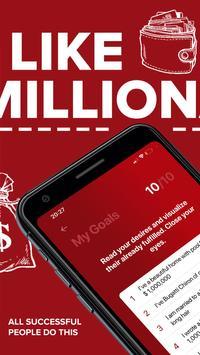 Millionaire Habits – daily visualization of goals スクリーンショット 11