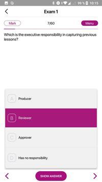 ExamMobile: PRINCE2 screenshot 2