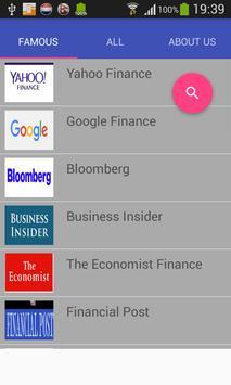 Finance News poster