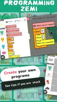 PROGRAMMING ZEMI【A programming educational app】 poster