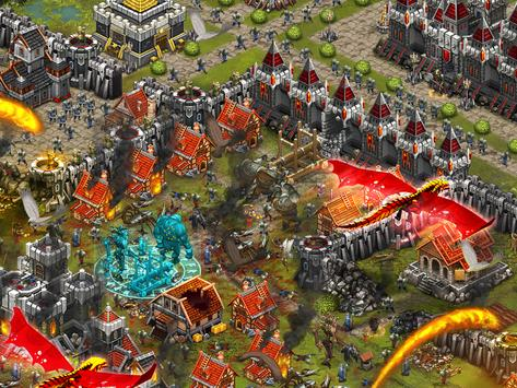 Throne Rush Ekran Görüntüsü 4