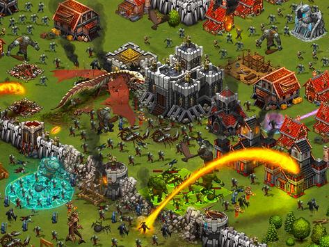 Throne Rush Ekran Görüntüsü 9