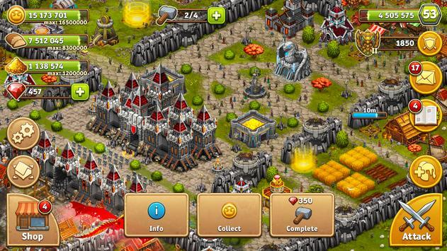 Throne Rush Ekran Görüntüsü 15