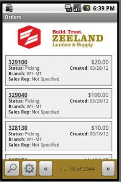 Zeeland Lumber & Supply Web Tr screenshot 1