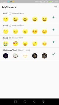 MyStickers (forWhatsApp) - WAStickerApps poster