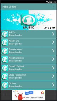PAULO LONDRA || MUSICA MP3 2019 screenshot 1