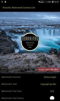 TerraTec Watermark Camera Lite screenshot 1