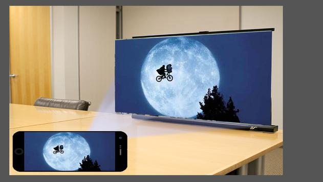 Mobile Projector Big Screen Photo Maker poster