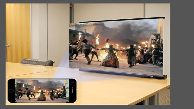 Mobile Projector Big Screen Photo Maker captura de pantalla 1