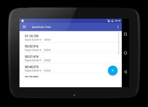 SpeedCube Timer screenshot 9