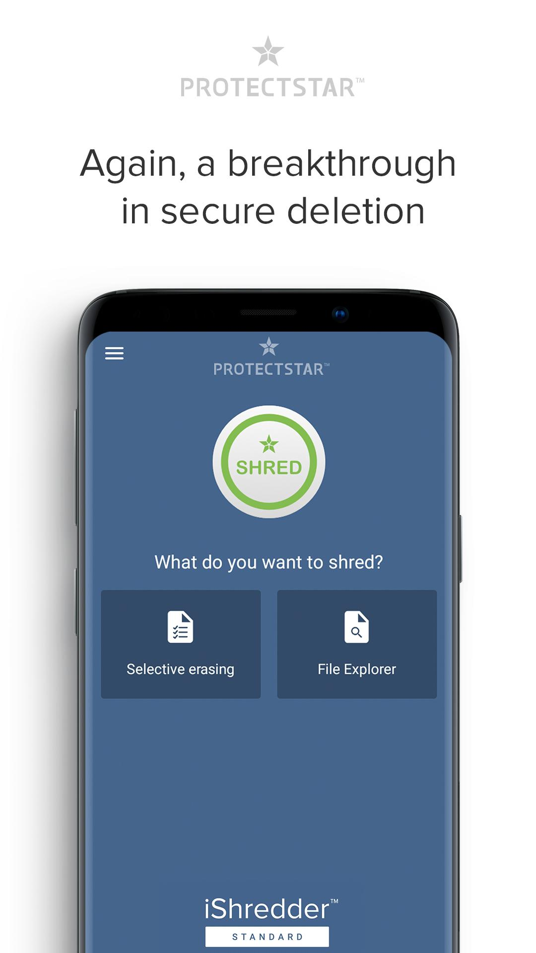 Secure Erase with iShredder 6 for Android - APK Download